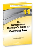 The Government Manager's Guide to Contract Law